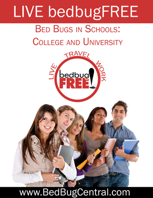 Live bedbugFREE in colleges
