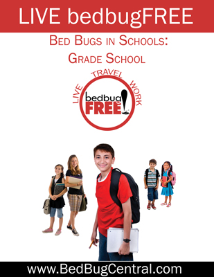 Live bedbugFree in grade schools
